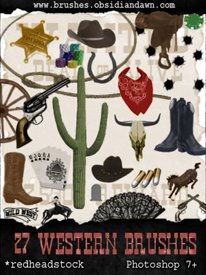 western wild west cowboys bandana cowboy boots bronco bullet holes bullets cactus cowboy hat lace fan gun horseshoe lasso poker chips royal flush (cards) rodeo images saddle skull tombstone wagon wheel wanted poster whiskey bottle