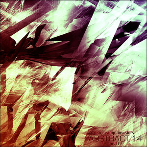 abstract patterns 3D shiny shining fragments sci-fi