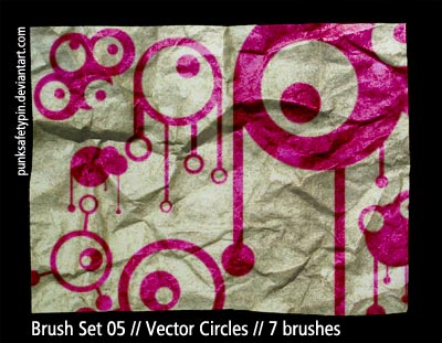 shapes vector circles abstract