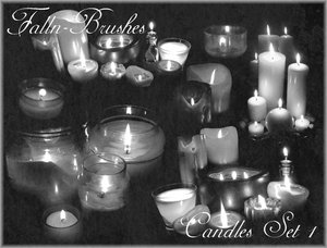 candles light
