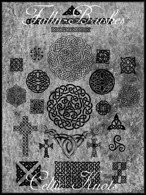 decorations decorative embellishements ornaments celtic knots symbols crosses patterns