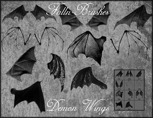 animals bats gothic dark vampires flying wings demons