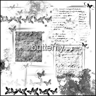 butterflies butterfly animals old papers letters borders frames handwriting