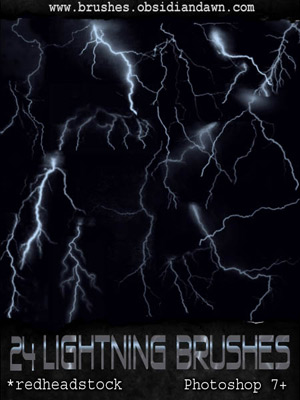 lightning thunder storms sky bolts