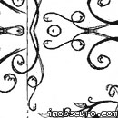 Photoshop: Ink ornaments (ink ornaments and leaves)