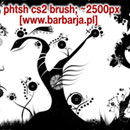 Photoshop: Barbarja trees (plantes, arbres, fleurs etc…)