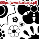 Photoshop: Barbarja floral 03 (fleurs etc…)