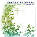 Photoshop: Circle Flowers (flowers and plants)