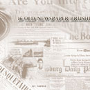 Photoshop: Old Newspapers (old newspapers)