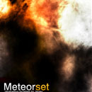 Photoshop: Meteor Set (metero textures)