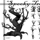 Photoshop: Spooky Trees (frightening trees (high resolution))