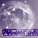 Photoshop: Stardust Photoshop Brushes (poussieres d'étoiles)