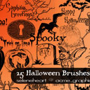 Photoshop: Halloween Photoshop Brushes (halloween stuff)