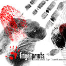 Photoshop: Fingerprints (fingerprints and finger marks)