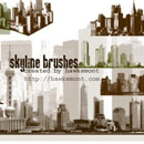Photoshop: Skyline (buildings (high résolution))