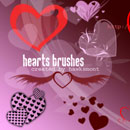 Photoshop: Hearts (hearts (high resolution))