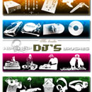 Photoshop: Dj's Photoshop brushes (DJ et matériel de mix)