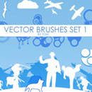 Photoshop: Vector Photoshop Brushes (miscellanous vector shapes)