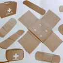 Photoshop: Photoshop Brush Set 07 - Band Aid (assorted band aids)