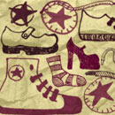 Photoshop: Photoshop Brush Set 22 - Random Shoes (dessins de chaussures)