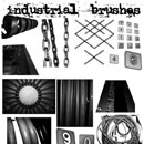 Photoshop: Industrial Photoshop Brush Pack (industrial components (high resolution))