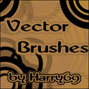 Photoshop: Vector Photoshop Brushes (vector circles and shapes)