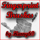 Photoshop: Fingerprint Photoshop Brushes (fingerprints and finger marks)