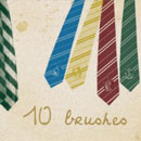 Photoshop: hp ties (Harry Potter ties)