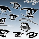 Photoshop: Anime Eyes (eyes)