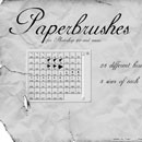Photoshop: Paperbrushes (torn papers )
