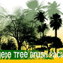 Photoshop: Complete Tree Photoshop Brush Pack (trees (high resolution))