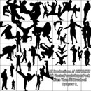 Photoshop: VectorPeopleSUPERBrushPack (vector silhouettes)
