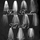 Photoshop: Veil Photoshop Brushes Set 1 (various veils)