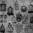 Photoshop: Birdcages Photoshop Brushes Set 1 (various birdcages)