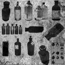 Photoshop: Poison Bottle Photoshop Brushes 1 (bouteilles de poison)