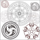 Photoshop: Special circles (Diverses illustrations à base de cercles.)