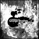 Photoshop: Grunge Photoshop brushes (grunge rusty looking stains and textures - highly detailed)