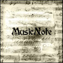 Photoshop: Music Note (partitions anciennes manuscrites)