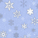Photoshop: Snow and Snowflakes Photoshop Brushes (Various snow and snowflakes.)