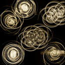 Photoshop: Torsion II (Spirals and circles shapes)