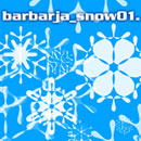 Photoshop: Barbarja_snow01 (various snowflakes)