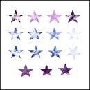 Photoshop: Stars (stars with various textures, including some with torn edges)