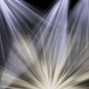 Photoshop: Light beams (set of Photoshop brushes made up of various light beams and rays of light. It includes beams like those from spotlights, sunlight like you would see coming through branches, lighthouse light beams, sunburst type effects (full circles as well as half and three quarters of the burst), and even some particles to add to your beams of light to make it look like floating dust. These are extremely high resolution, averaging about 2250 pixels in size. )