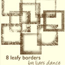 Photoshop: leaf borders (leafy borders)