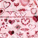 Photoshop: Hearts (hearts, hearts, and more hearts)