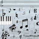 Photoshop: Music (musical notes, clefs, rests, etc)